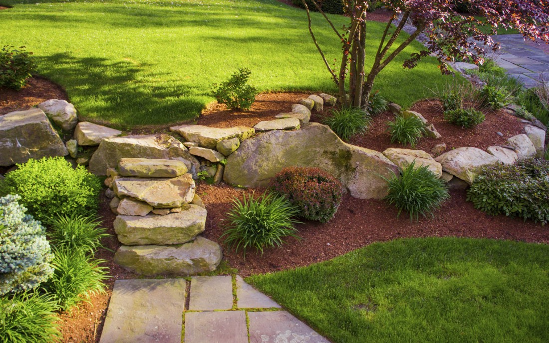 Landscaping service in royal oak triple j 39 s lawn care for Landscaping services